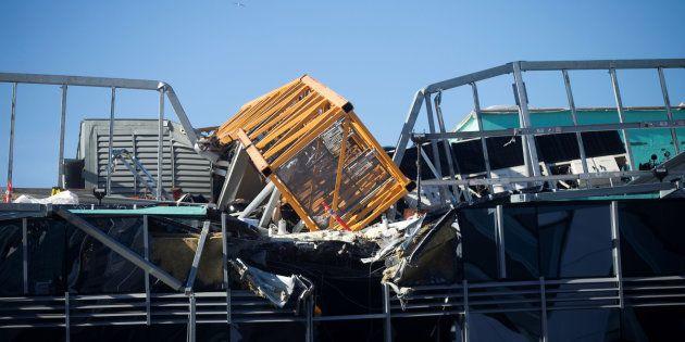 Google campus Seattle: crolla gru, 4 morti e quattro