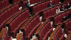 Alla Camera si discute il taglio dei parlamentari, ma l'aula è vuota per il ponte del Primo