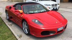 Il figlio del boss arriva in Ferrari alla Prima Comunione a Bari. Il parroco si