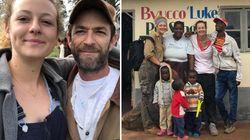 Sophie, figlia di Luke Perry, torna in Malawi e intitola una scuola al