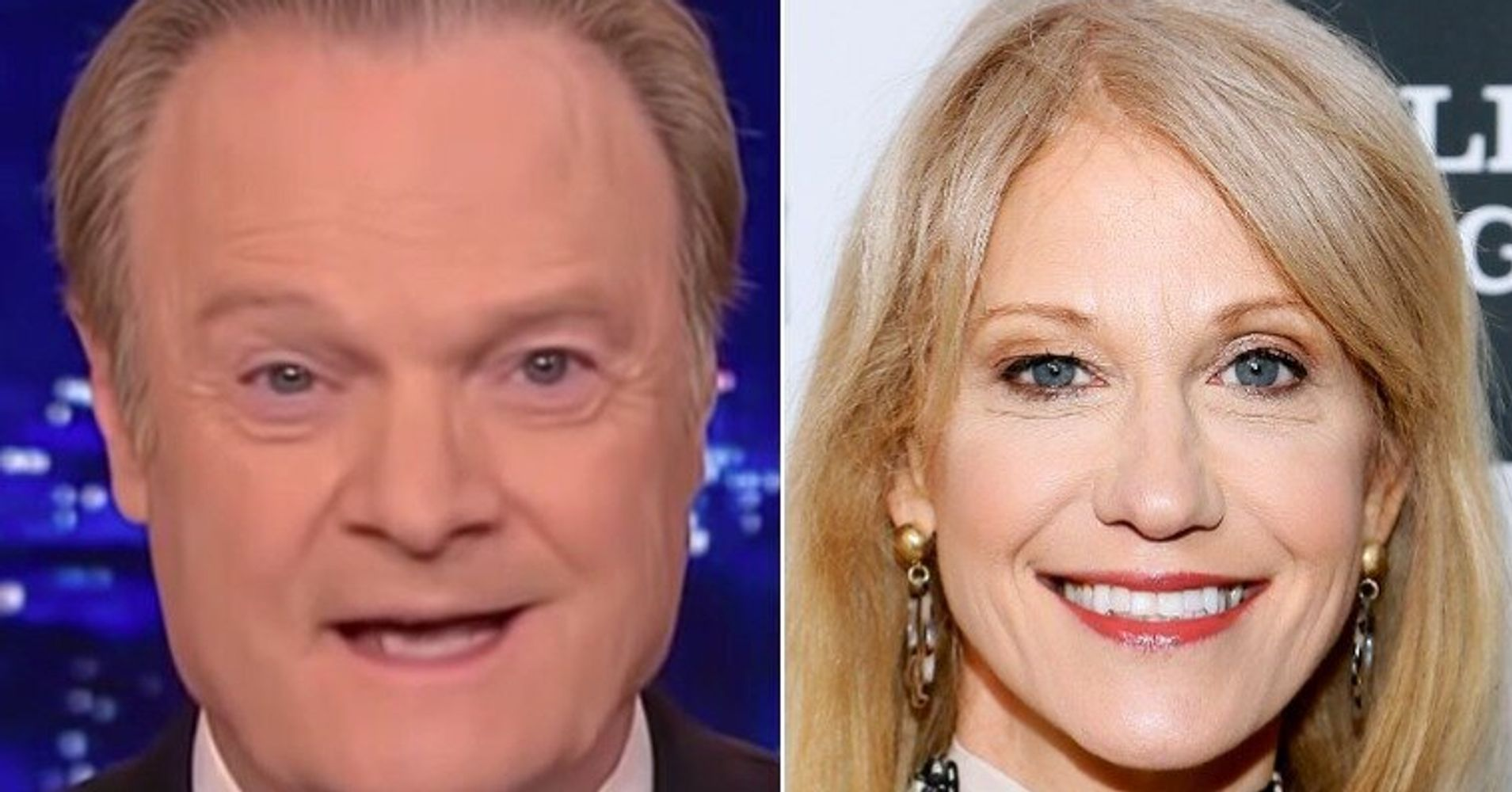 Lawrence O'Donnell Runs Video Of Kellyanne Conway Allegedly Breaking The Law