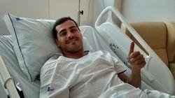 Iker Casillas donne des nouvelles rassurantes après son