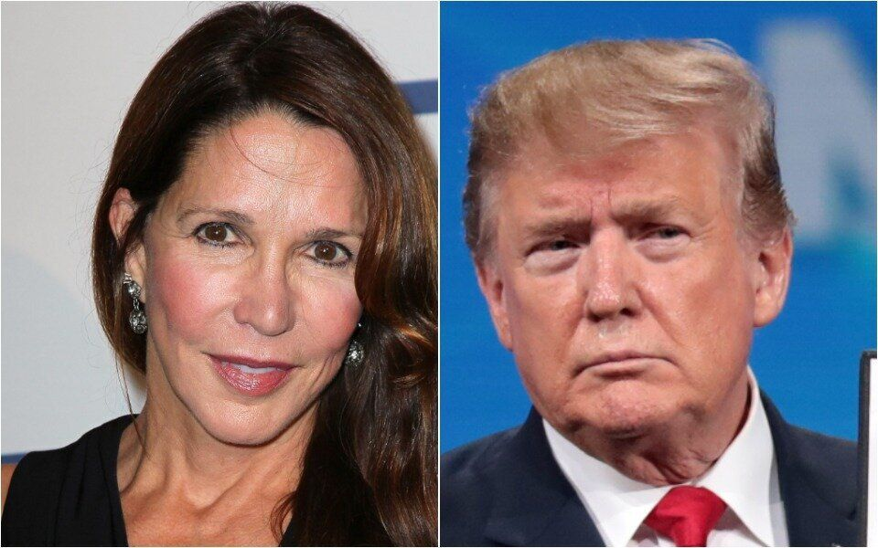 Patti Davis and Donald Trump