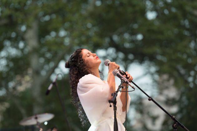 La chanteuse tunisienne Emel Mathlouthi lauréate du