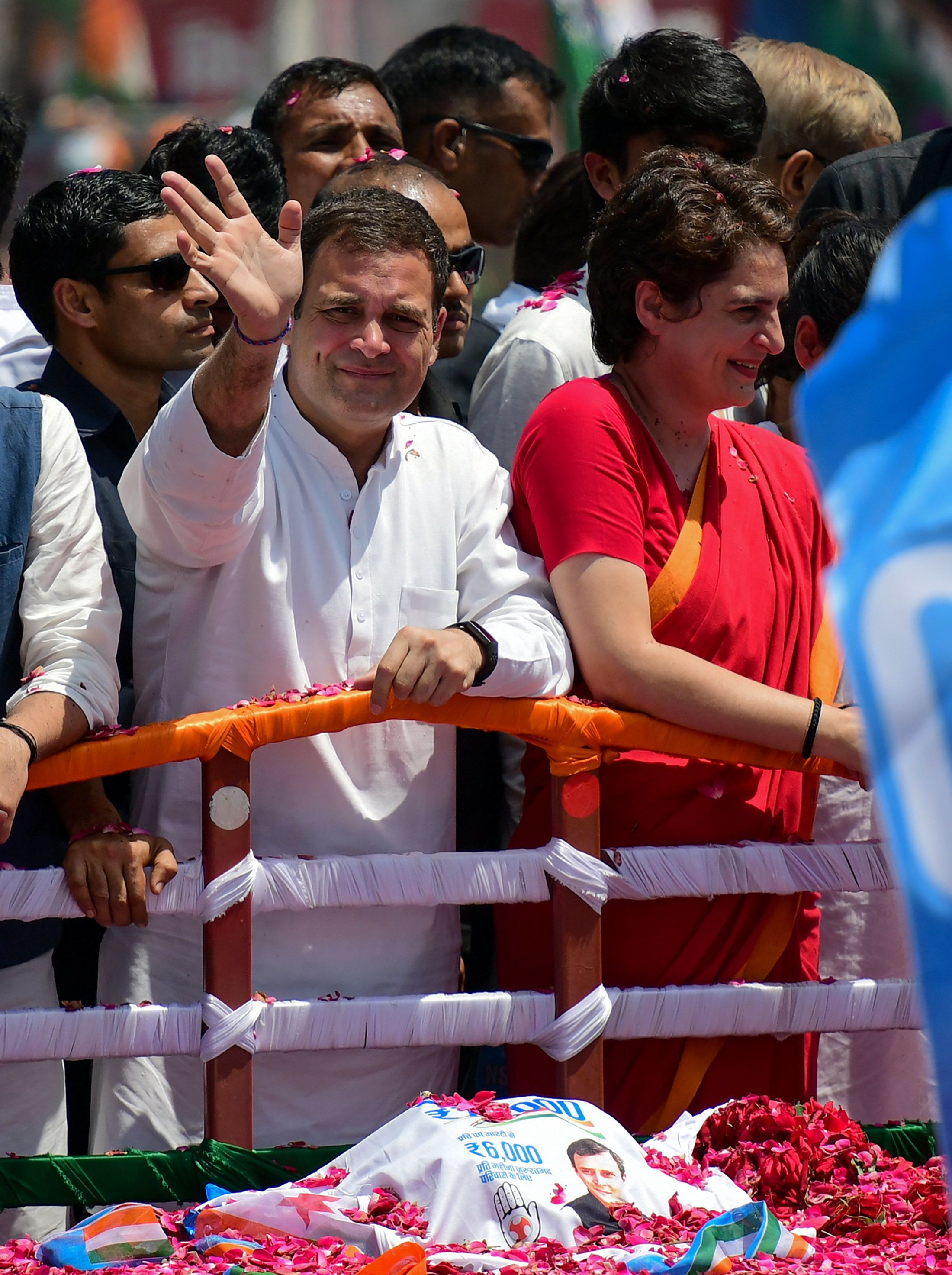 Rahul Gandhi Is Locked In A Heated Contest With Smriti Irani In