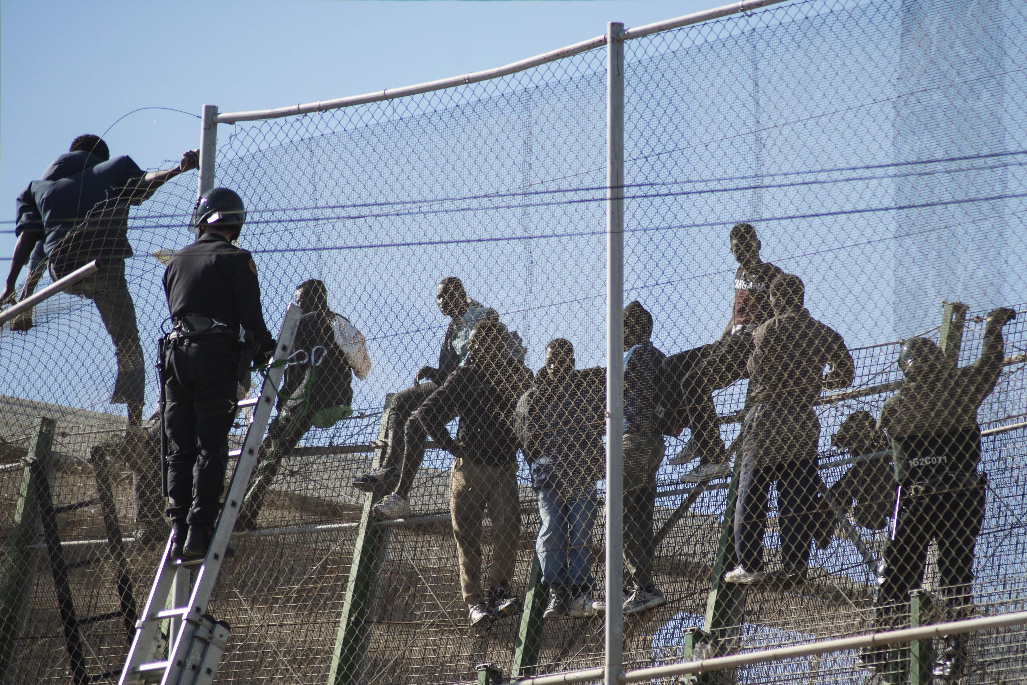 Melilla: Près de 1.500 migrants sont arrivés par voie terrestre depuis le début de