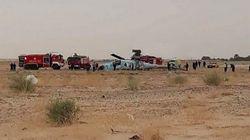 El Oued: crash d'un hélicoptère militaire au décollage à l'aéroport