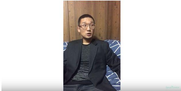 'A급 지명수배' 왕진진이 노래방에서