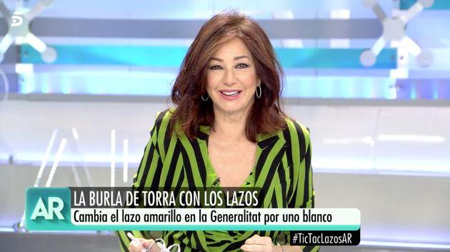 Ana Rosa Quintana se moja (y mucho) sobre el personaje del momento: