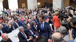El comentado (y polémico) gesto de Pablo Casado: impensable hace dos