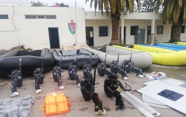Cinq personnes arrêtées à Nador pour transport illégal de clandestins et traite