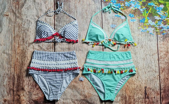 5c787f832468d This Flattering Two-Piece Amazon Bathing Suit Covers The Stomach ...