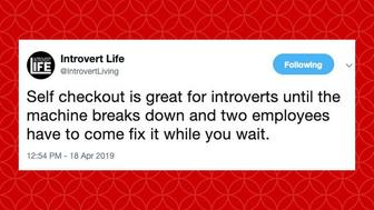 introvert tweets