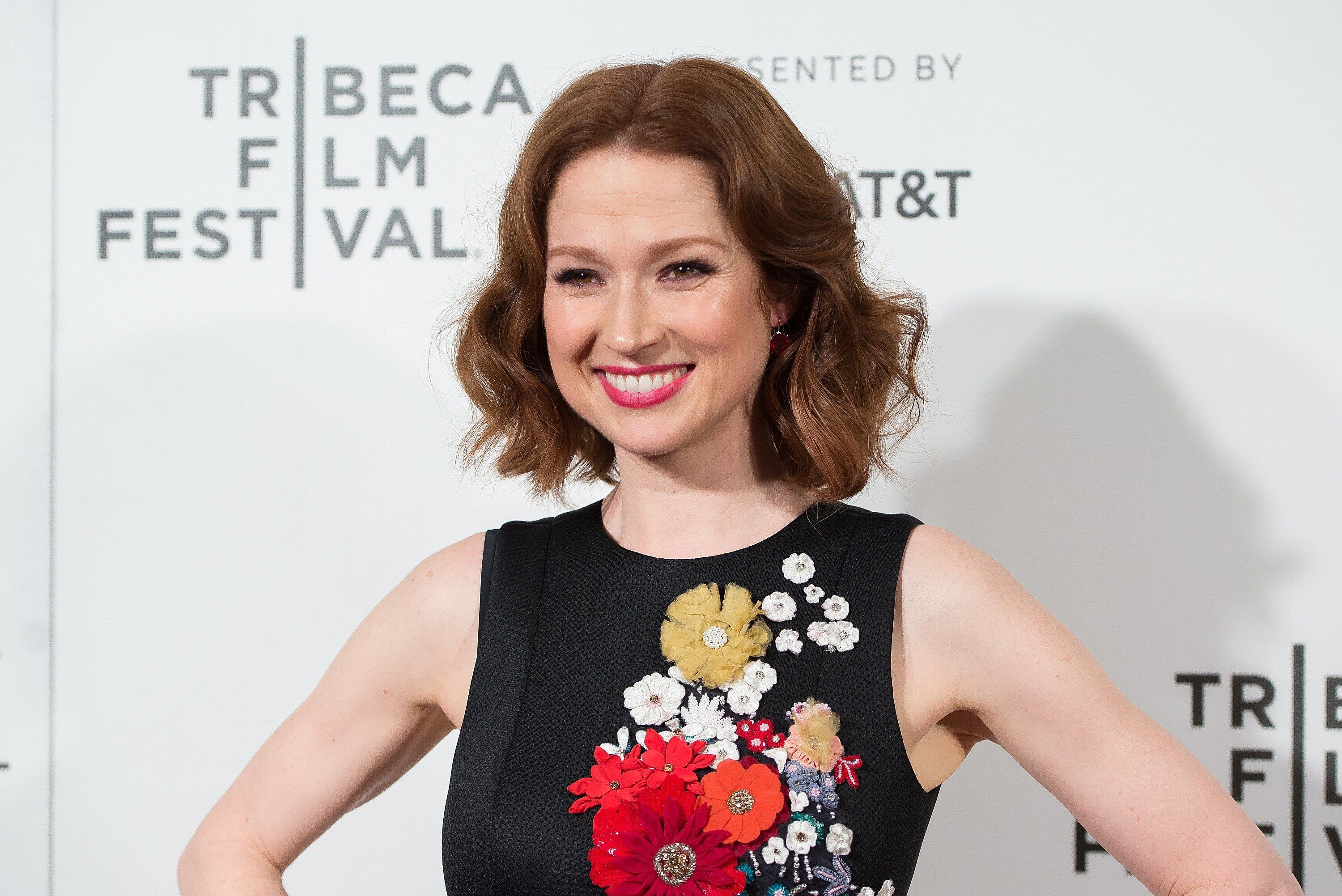 "NEW YORK, NY - APRIL 28:  Ellie Kemper attends the ""Unbreakable Kimmy Schmidt"" screening during 2017 Tribeca Film Festival at BMCC Tribeca PAC on April 28, 2017 in New York City.  (Photo by Mike Pont/WireImage)"