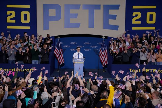 Pete Buttigieg announced his presidential bid on April 14, 2019 at a rally in South Bend, Indiana. He...