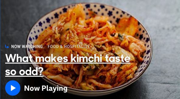 "A BBC video titled ""What makes kimchi taste so odd?"" has sparked backlash."