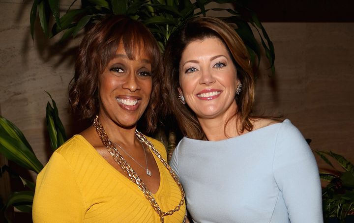 "Gayle King, left, will continue to anchor ""CBS This Morning,"" and Norah O'Donnell, right, will likely move to ""CBS Evening Ne"