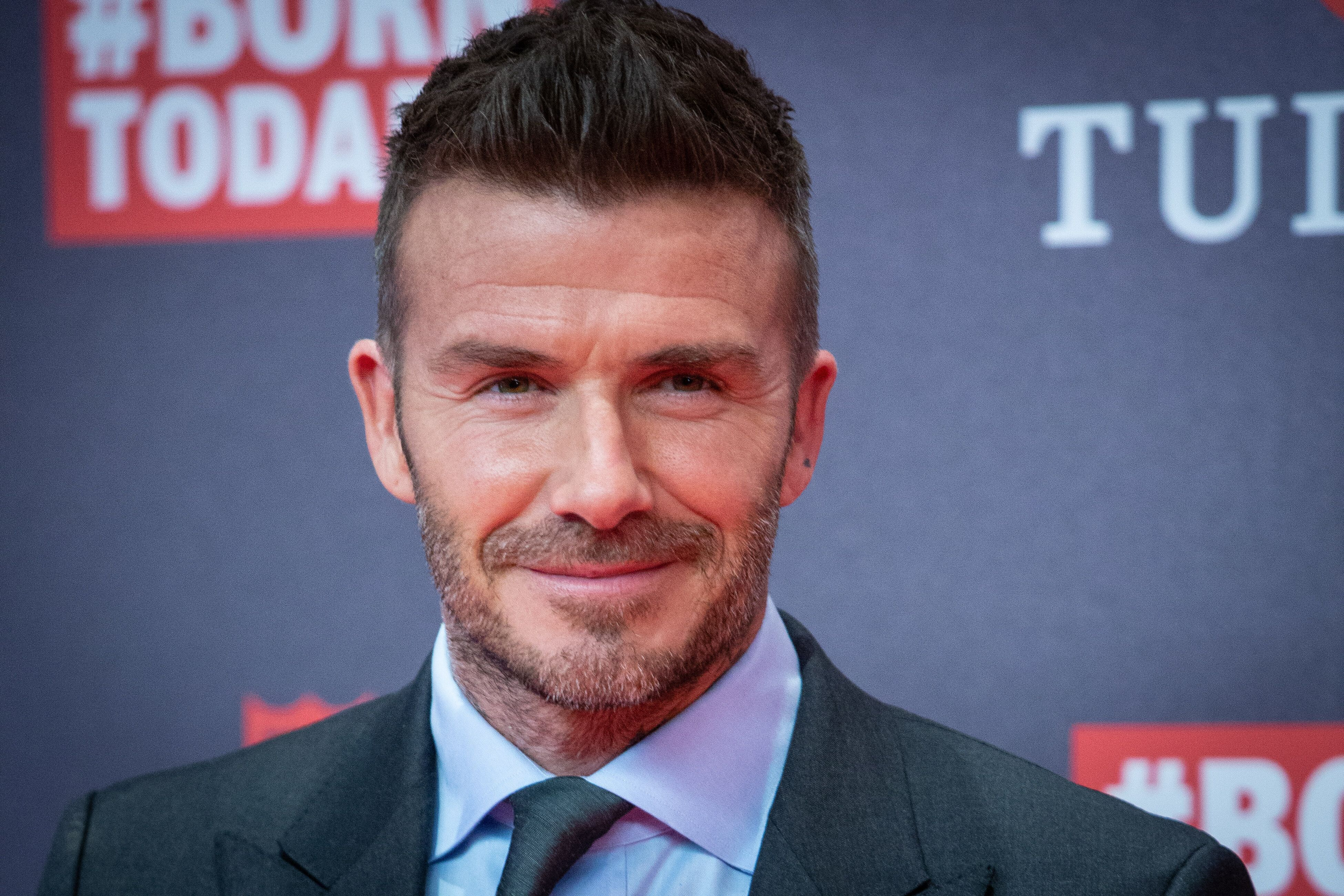 David Beckham has three sons and a daughter.