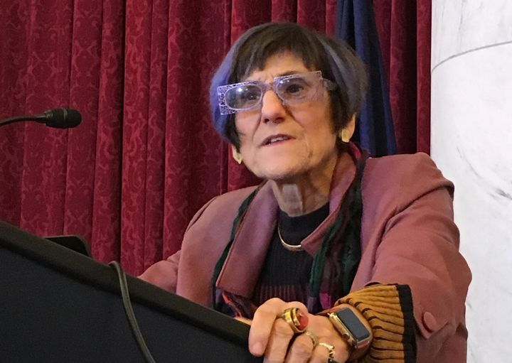 Rep. Rosa DeLauro is especially proud of how her proposal would enhance Medicare benefits for seniors.