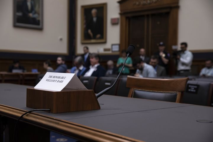 Attorney General William Barr refused to show up for a hearing before the House Judiciary Committee on Thursday.