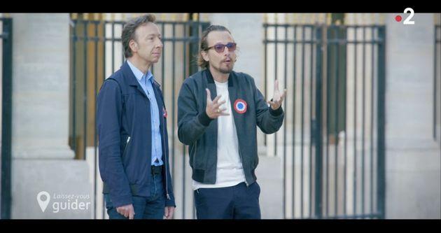 Stéphane Bern et Lorant Deutsch ont présenté une émission sur la Révolution...