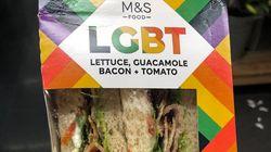 성소수자의 달을 앞두고 영국 M&S가 'LGBT 샌드위치'를