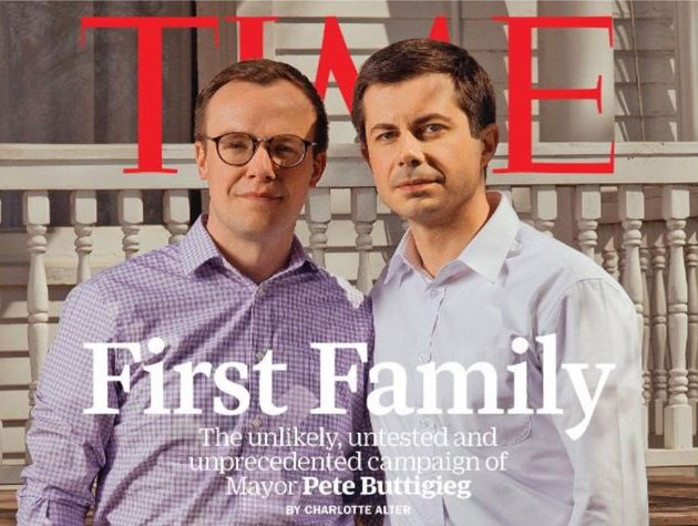 Buttigieg and his husband, Chasten Glezman, made the cover of TIME because of his historic bid for the
