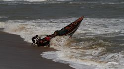 Cyclone Fani Makes Landfall In Puri Triggering Heavy Rainfall, Large Areas Submerged Under