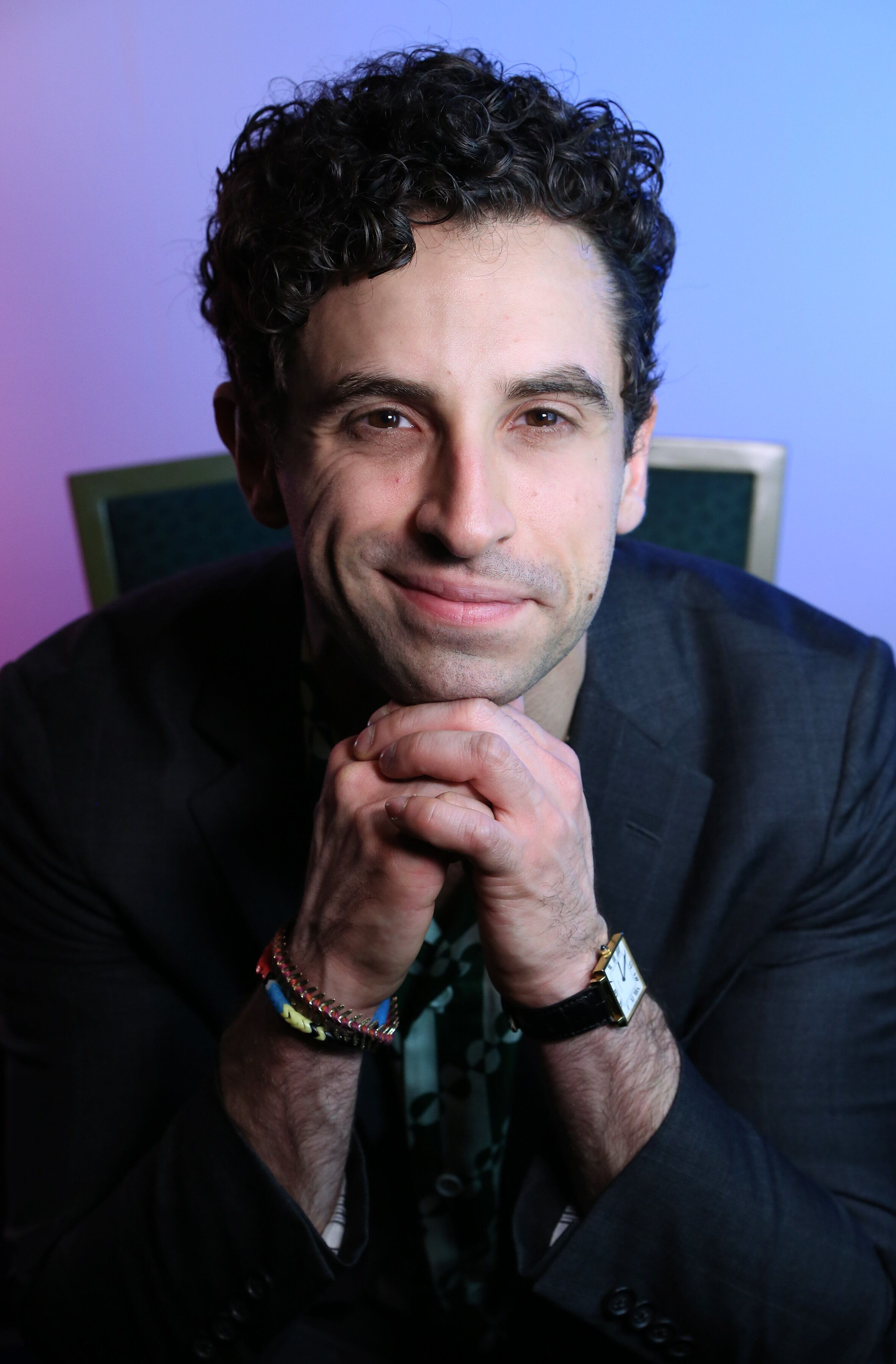 NEW YORK, NY - MAY 01:  Brandon Uranowitz during The 73rd Annual Tony Awards Meet The Nominees Press Day at the Sofitel Hotel on May 01, 2019 in New York City.  (Photo by Walter McBride/Getty Images)