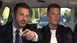 Jimmy Kimmel Tricks Tom Brady Into Kicking Up His Feud With Matt