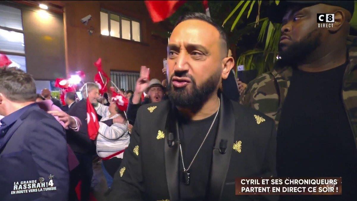 Cyril Hanouna et son équipe embarquent vers Tunis pour le tournage de la