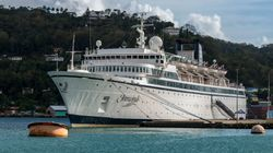 Scientology Cruise Ship Leaves St. Lucia After Measles