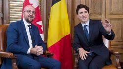Justin Trudeau et son homologue belge en croisade contre le