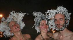 Ce concours de cheveux gelés dépasse les limites de