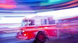 Environ 1000 bêtes périssent dans l'incendie d'une porcherie en