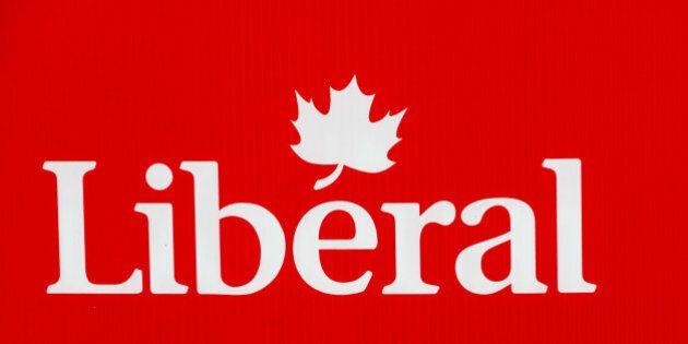 TORONTO, VILLA CLARA, CANADA - 2015/10/03: Logo of the Liberal political party of Canada.The Liberal...
