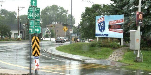 Campagne pour faire débloquer le prolongement de l'autoroute