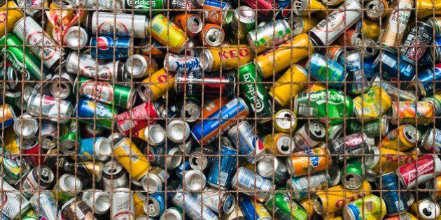 used beverage cans in metal