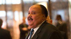 «Phare de liberté»: le fils de Martin Luther King fait l'éloge du