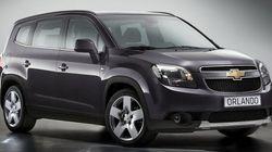 Rappel de voitures Chevrolet