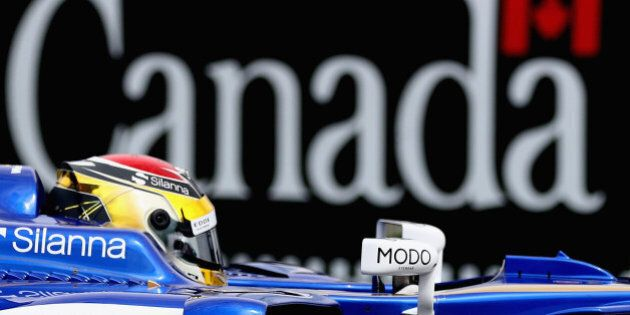 MONTREAL, QC - JUNE 09: Pascal Wehrlein of Germany driving the (94) Sauber F1 Team Sauber C36 Ferrari on track during practice for the Canadian Formula One Grand Prix at Circuit Gilles Villeneuve on June 9, 2017 in Montreal, Canada.  (Photo by Clive Mason/Getty Images)
