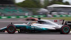 Hamilton est le plus rapide de la première séance d'essais au GP du Canada