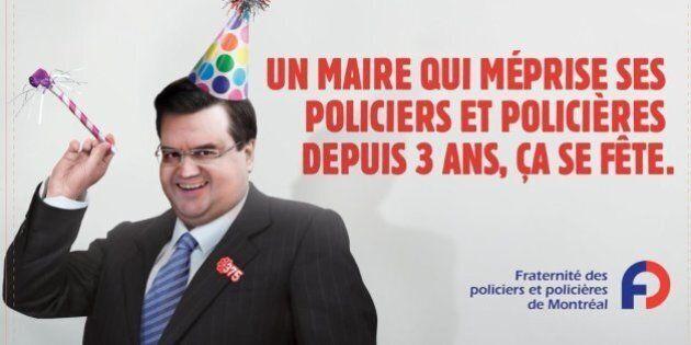 La Fraternité des policiers et policières de Montréal se moque de Denis