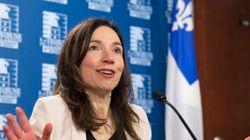 Martine Ouellet présente ses excuses à Rhéal