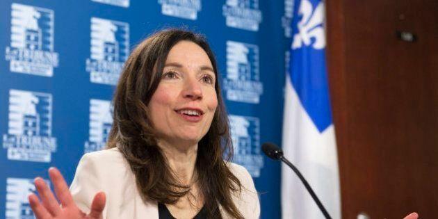 Bloc québécois: Martine Ouellet présente ses excuses à Rhéal
