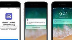 Apple veut bloquer les textos sur iPhone quand nous