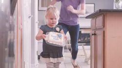 Une journée normale selon maman, mais extraordinaire selon sa fille