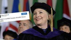 Clinton profite du «covfefe» pour faire passer un message à