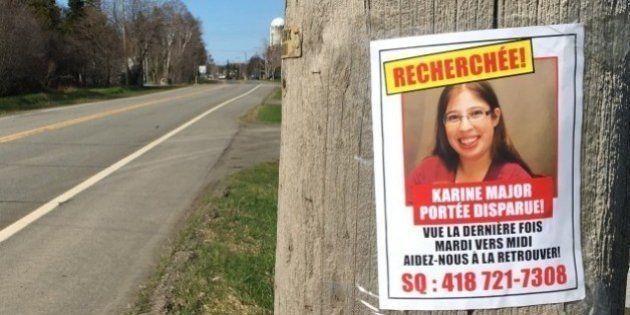 Disparition de Karine Major: la piste du départ volontaire maintenant privilégiée par la