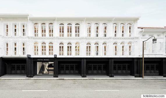 Le tout premier hôtel en noir et blanc au monde